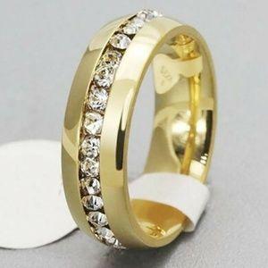 7 8 9 10 11 13 Gold Wedding Band 6mm•~
